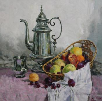 Still-life with the fruits. Malykh Evgeny