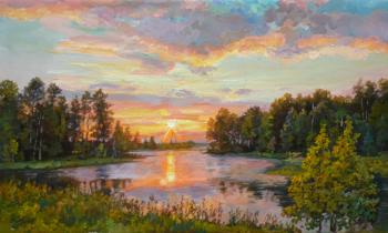 Bright morning. Panov Eduard