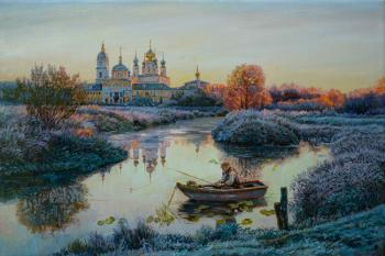 The first frost. Panov Eduard
