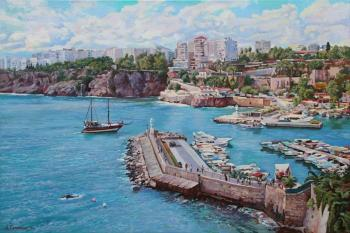 Harbor of Kaleichi in Antalya. Samokhvalov Alexander