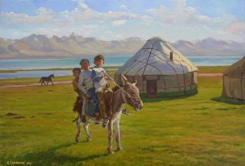 For the mare's milk. Samokhvalov Alexander