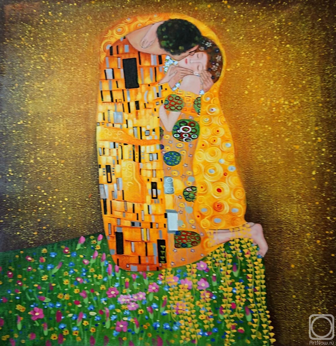 Minaev Sergey. Kiss.copy of G. Klimt