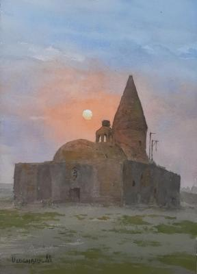 Chashma Ayub (Paintings). Mukhamedov Ulugbek