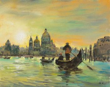 Morning in Venice. Kremer Mark