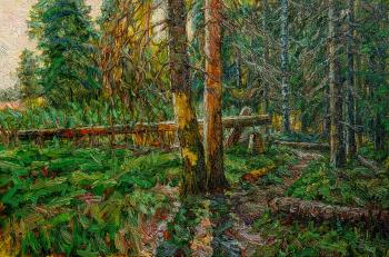 On the edge of the forest. Meshkov Valery