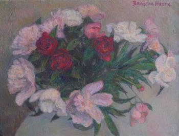ThreeRoses (Still Life With Flowers). Zaitseva Anastasia