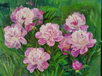 Pink peonies (A Picture For An Interior). Shenec Anna