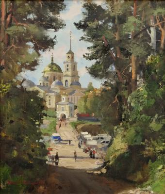 The road to the Temple. Shevchuk Vasiliy