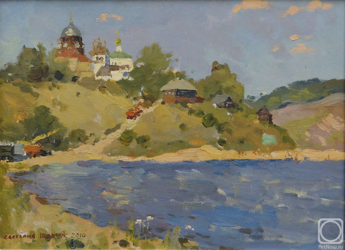 Shevchuk Svetlana. Summer on Sviyaga
