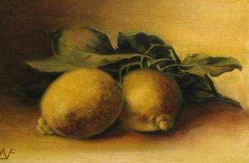 Lemons, copy of Catharina Klein. Fomina Lyudmila