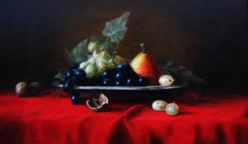 Fruits in a plate. Fomina Lyudmila