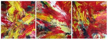 Triptych OF-33 (Oil Paintings). Frolov Oleg