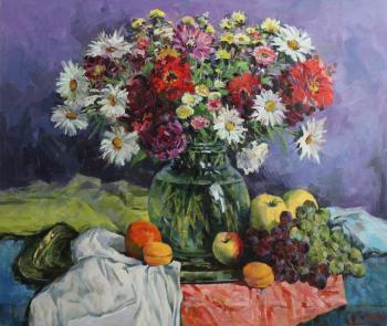Still life with fruit. Malykh Evgeny