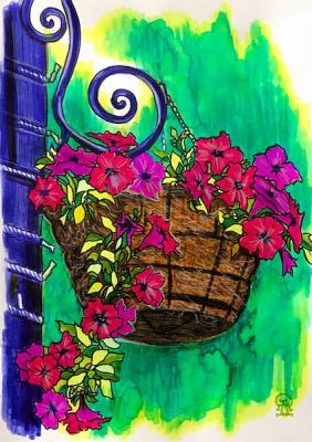 Flower Pot. Lukaneva Larissa