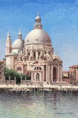 Cathedral of St. Mary. Venice. Gribennikov Vasily