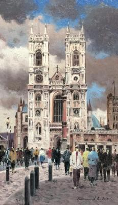 Church of Westminster Abbey. London. Gribennikov Vasily