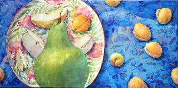 Favorite plate (A Picture For An Interior). Pavlova Ekaterina