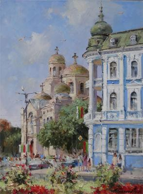 Varna. View of the Assumption Cathedral