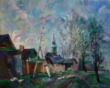 In a Tatar village. Mif Robert