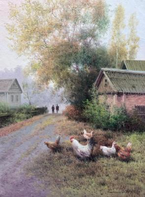 Rural morning. Gribennikov Vasily