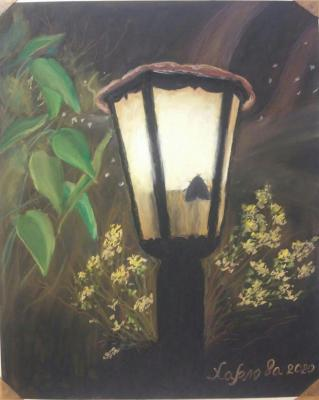 Lantern in the night. Harlova Tatyana