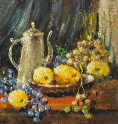 Still life with a coffee pot. Kremer Mark