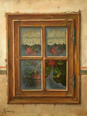 Old window. Vukovic Dusan