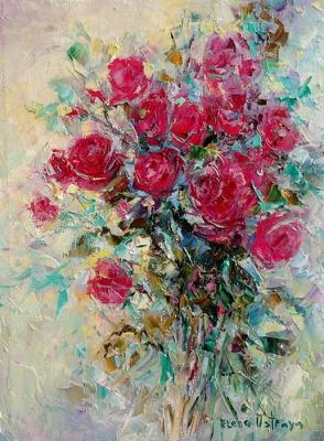 Roses as a gift (Flowers As A Gift). Ostraya Elena