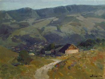 Foothills of the Caucasus (In The Mountains Of The Caucasus). Makarov Vitaly