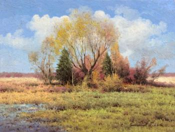 A fine autumn day. Gribennikov Vasily