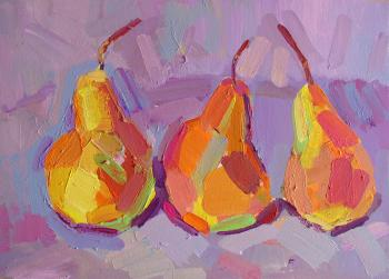 Three pears (Decoration). Lishaieva Olesia