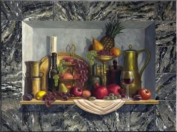 Niche with still life. Krasnova Nina