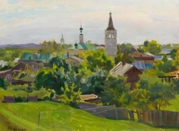 Noon in Suzdal