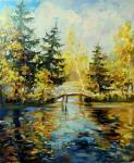 Gerasimova Natalia. Golden autumn in Abramtsevo