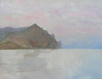 Sea, Karadag Rocks & Sky After Sunset. Kudryavtsev-Dobrohotov Yuri