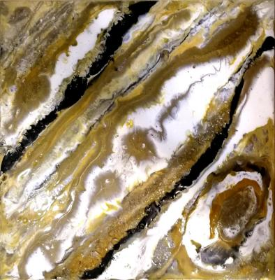 Yellow stone. Rakhmatulin Roman
