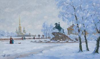 Bronze Horseman, Peter the Great, Saint Petersburg. Alexandrovsky Alexander