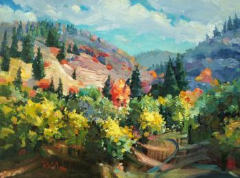 Mountain colors. Myasnikova Tatyana