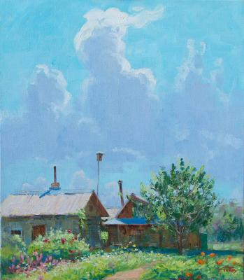 Under the summer sky. Panov Igor