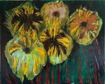 CHatinyan Mger. Five sunflowers