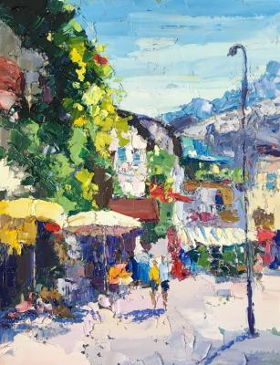 Bright noon (Palette Knife). Gavlina Mariya