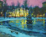 Volkov Sergey. Warm Christmas at Chistye Prudy