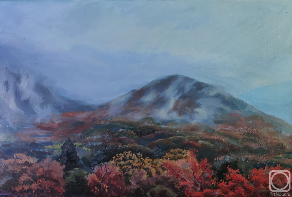 Makarenko Anastasiya. Mountains Of Korea