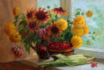 August still-life. Shumakova Elena