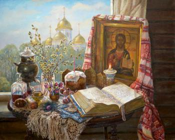 Easter morning. Panov Eduard