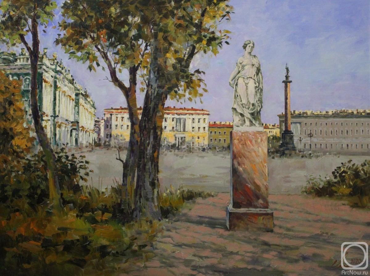 Malykh Evgeny. St.Petersburg. Palace Square