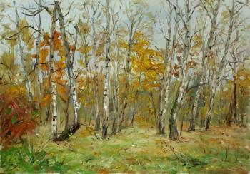 Autumn forest. Novikova Marina