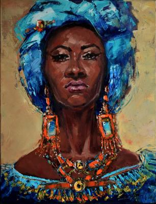 African women (A Picture For An Interior). Tata Tatiana