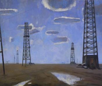 New oilfield. Kruglov Roman