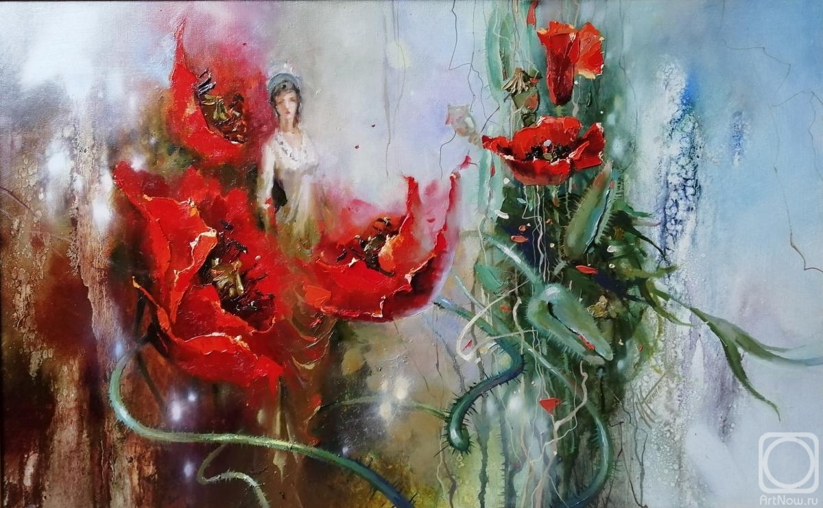 Nogina Irina. Poppies